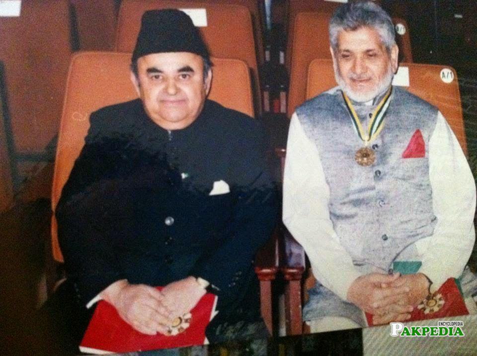 With Mian Mohammad Hanif Tahir