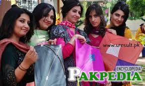 Girls in Basant