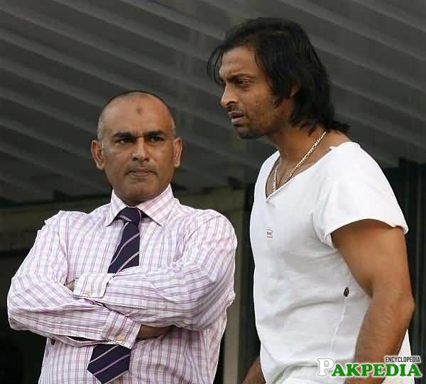 Aamer Sohail and Shoiab Akhtar