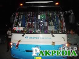 Daewoo Pakistan has added new rout to its countrywide bus services, from Okara Cantt to Lahore, Karachi, Hyderabad, Multan, Moro, Sukkur, Rahimyarkhan