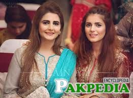 Momina Mustehsan with Mother
