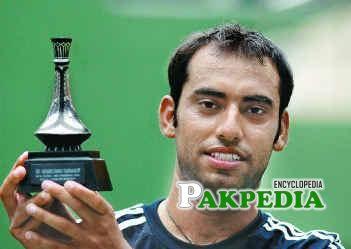 Aqeel khan after winning champion trophy