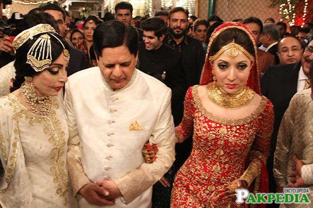 Sharmila Farooqi wedding Picture