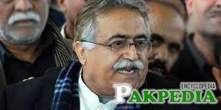 Maula Bakhsh Chandio Imformation Minister