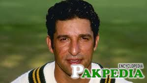 Wasim Akram an old photo