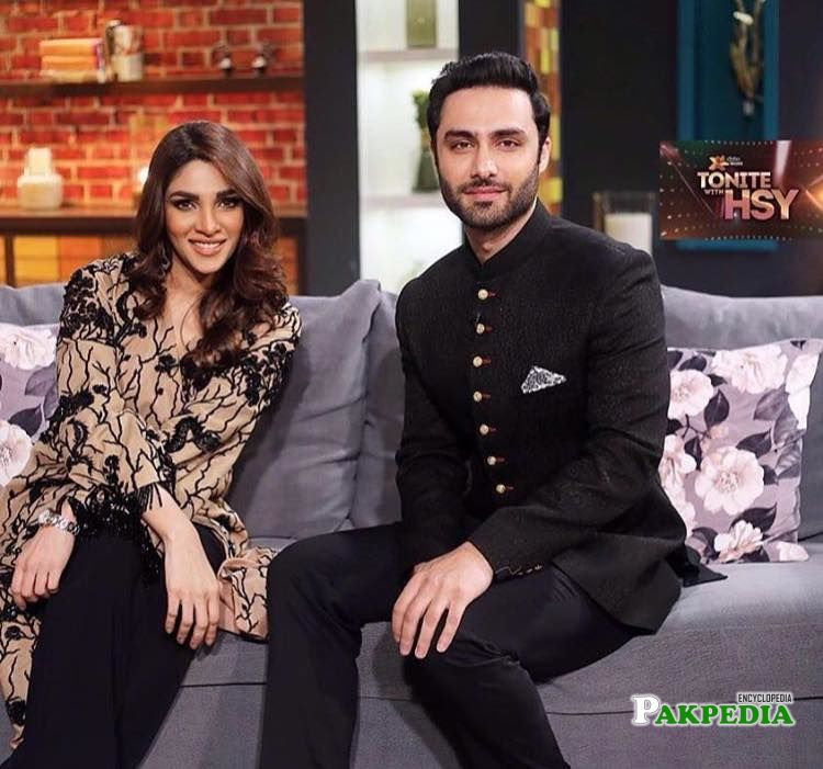 In HSY show with Zhalay sarhadi