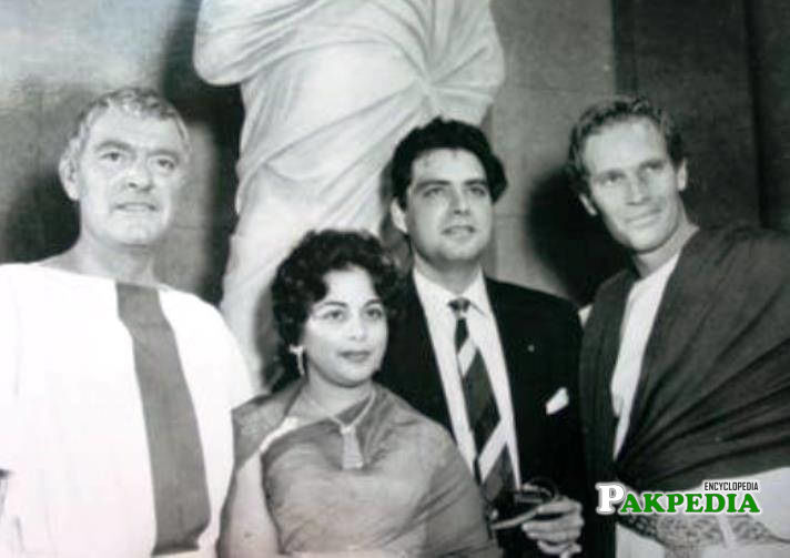 Syed moosa with foreigners