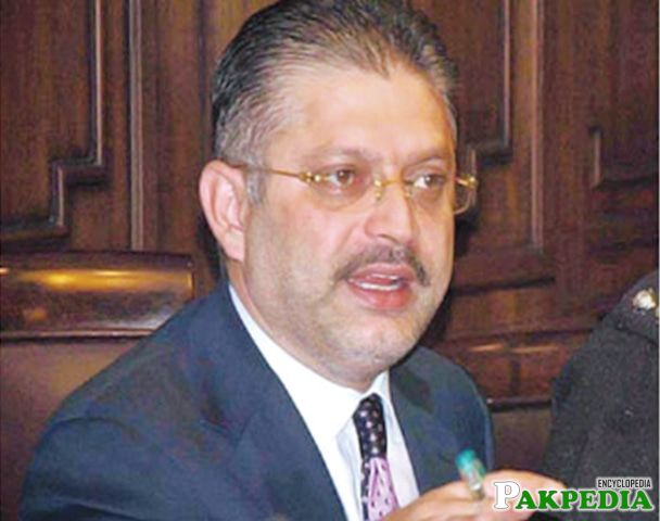 Sharjeel Memon as a Minister of Information