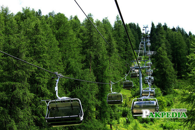 The Margalla Hills offer tourists the complete package with these chair-lifts