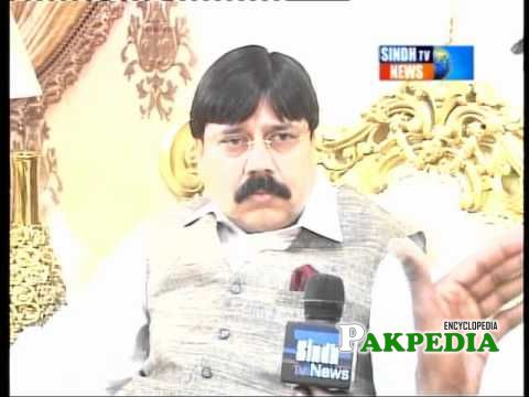 Interview at Sindh TV News