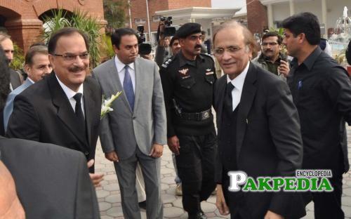 Dost muhammad khan at kpk judicial academy