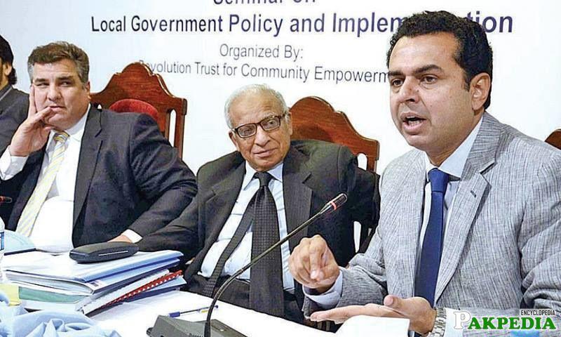 PML-N MNA Mohammad Talal Chaudhry