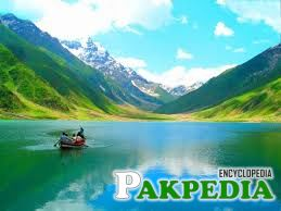 Lake Saiful Malook in Summer