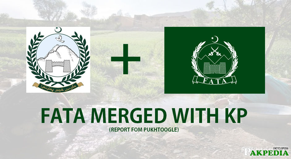 Merging FATA and Khayber Pakhtoonkhwa