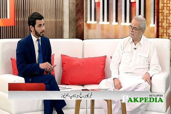 Hameed Haroon plays an important role in promoting music, arts and culture