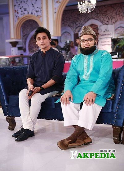 Sahir Lodhi during Ramzan Transmission