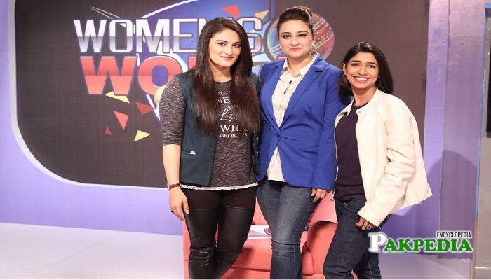 Kiran khan at PTV sports