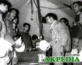 M M Alam in Camp