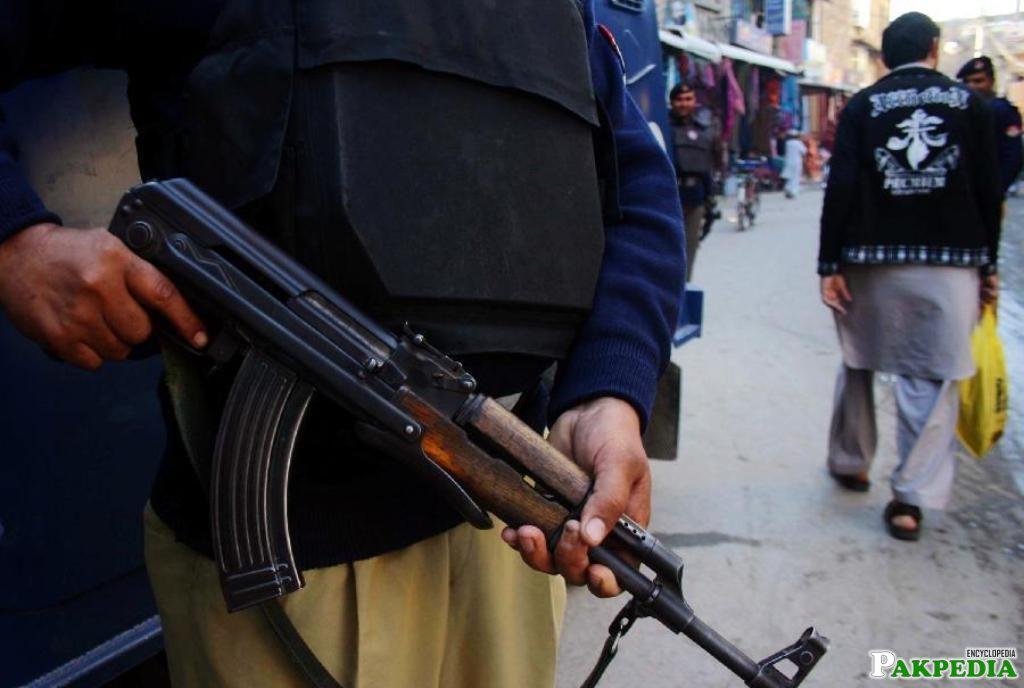 Khyber Pakhtunkhwa Police Active