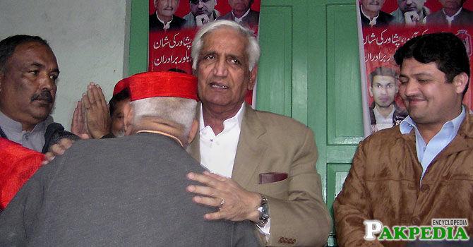 Bashir Ahmad Bilour member of AMP