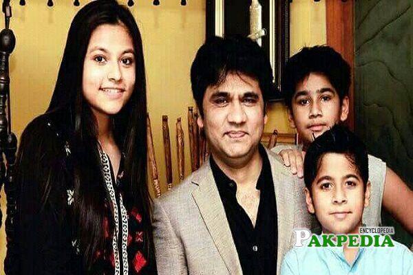 Wasi Shah Family