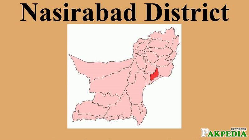 Nasirabad District Map