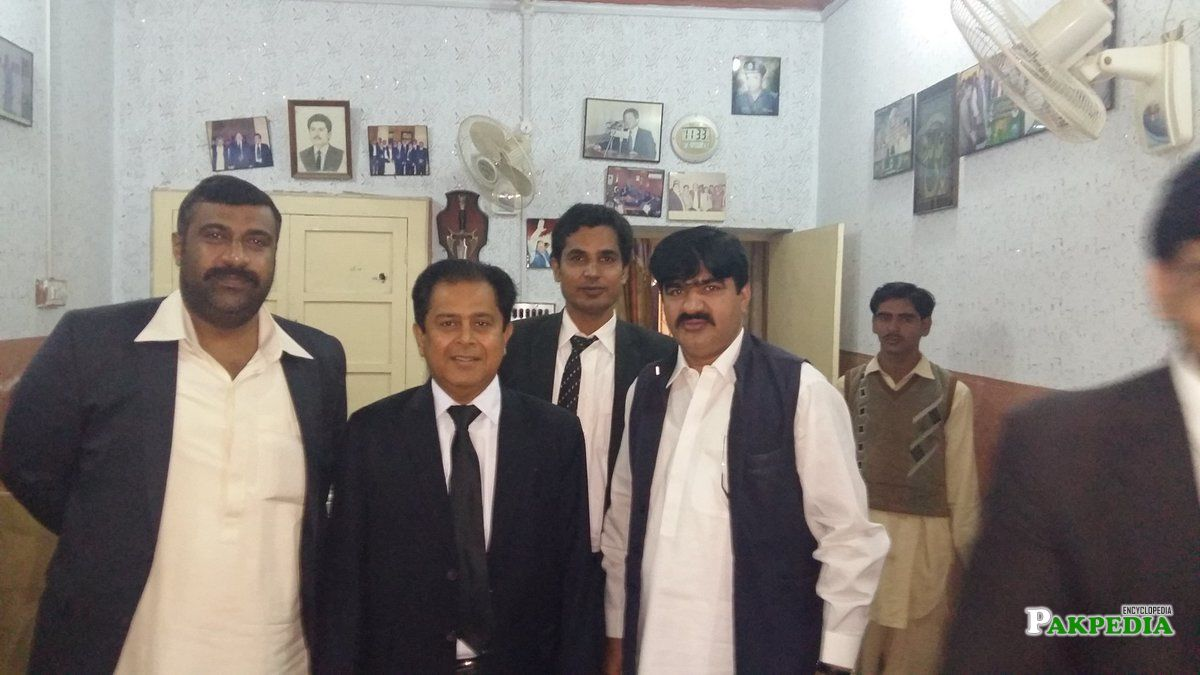 Group Photo in Larkana