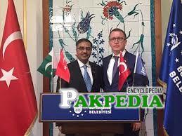 Sohail Mahmood as an ambassador of turkey
