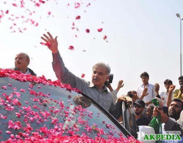 Shahbaz Sharif targets NA 129