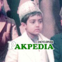Childhood picture of Ghulam Nizam ud din