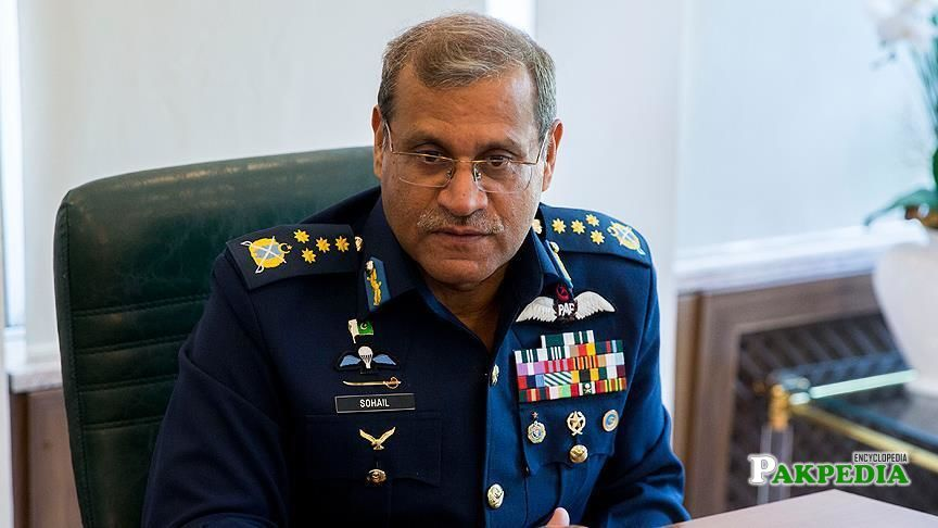 Ex Chief of Air Staff of the Pakistan Air Force