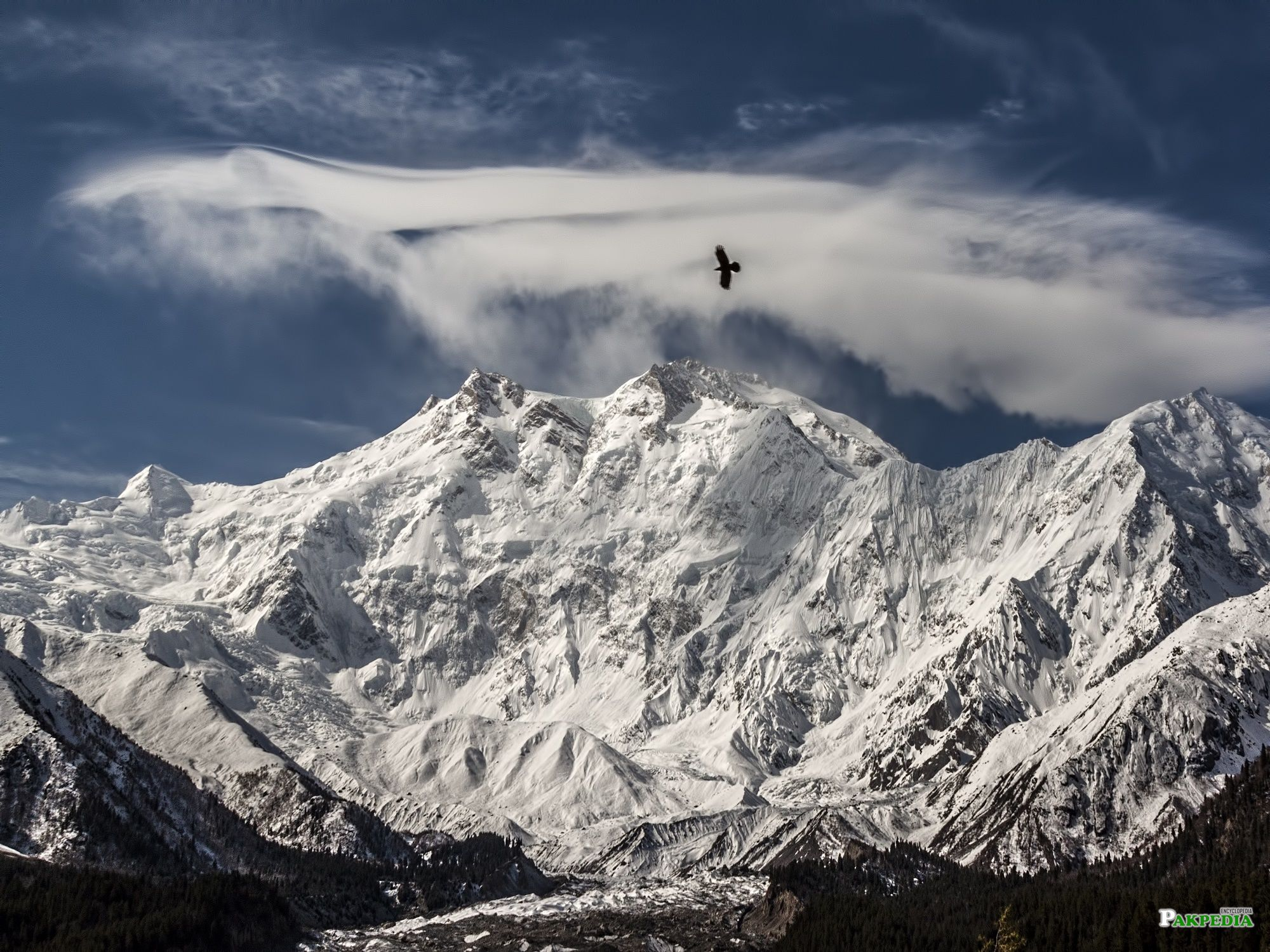 Beautiful View of 2nd Highest Mountain of Pakistan