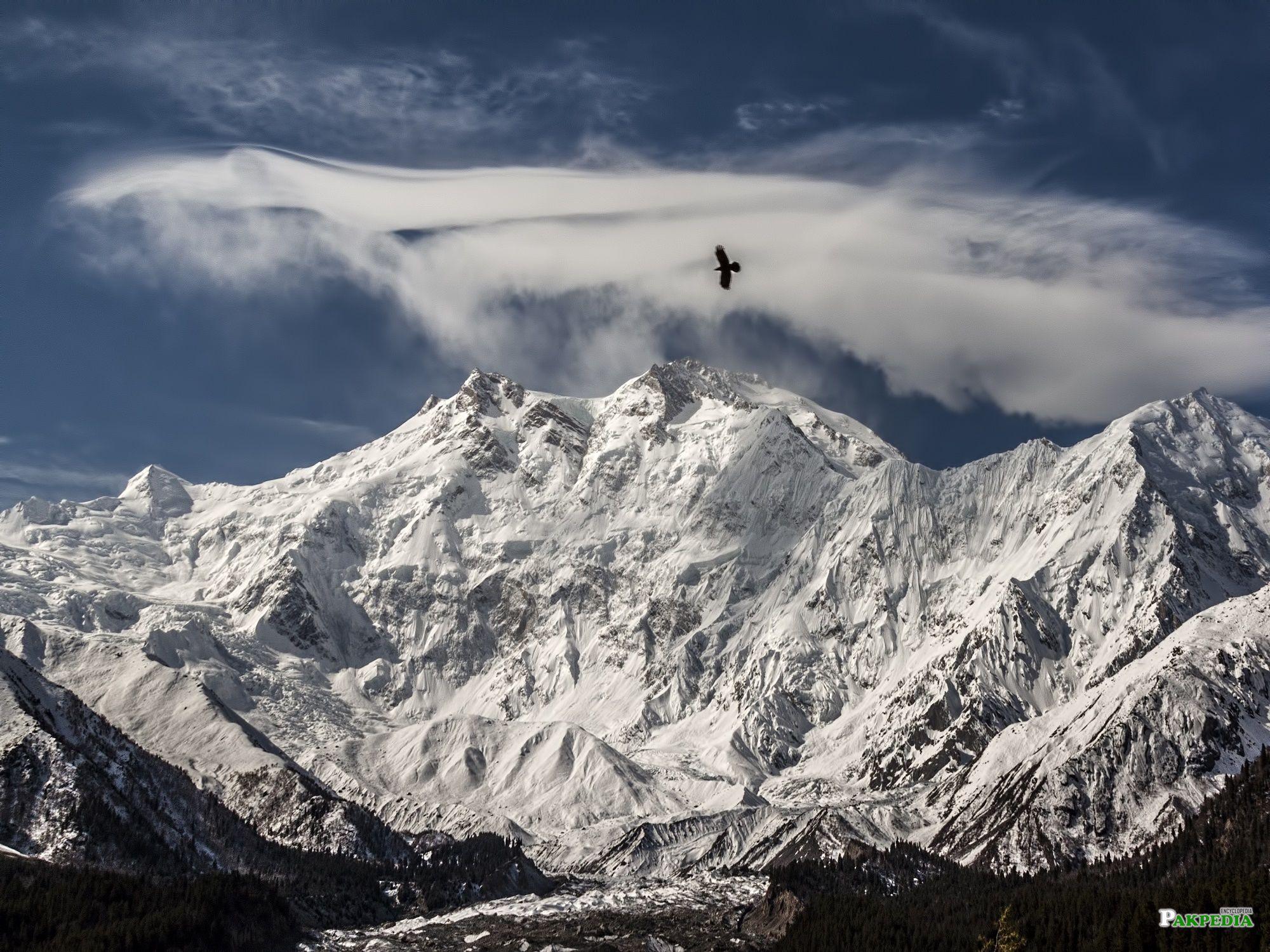 Beautiful View of 2nd Highest Mountain of Pakistan