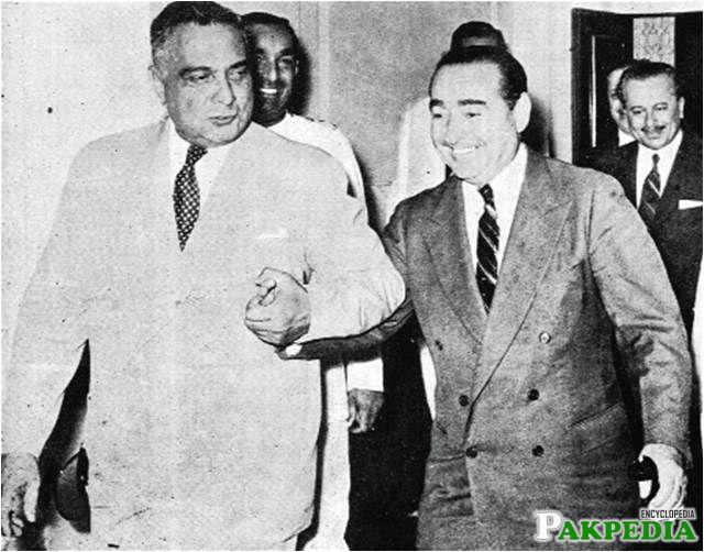 Iskander Ali Mirza with Adnan