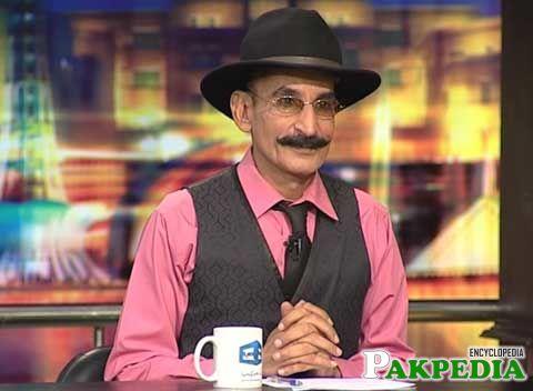 Iftikhar Thakur in Mazakrat Show