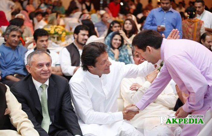 Adeel hashmi in conversation with Imran Khan