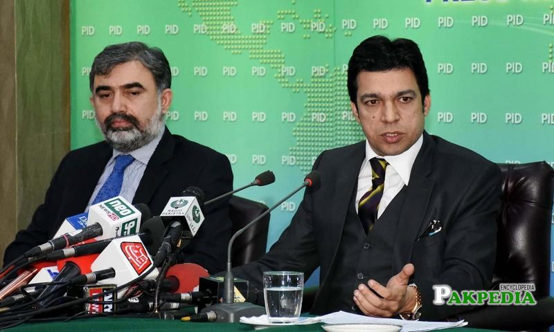 While addresing a press conference in Islamabad