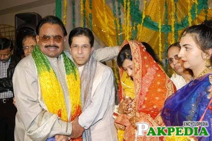 Altaf Hussain Some where at Wedding