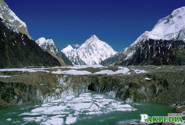 Beautiful Lake in Himalayas
