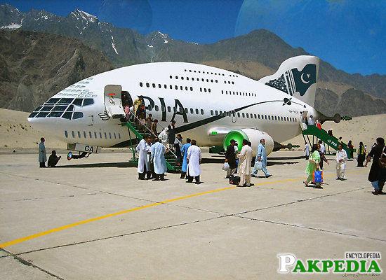 Gilgit Airport Tourist Point
