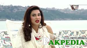 Fiza Ali in morning show in Istambul