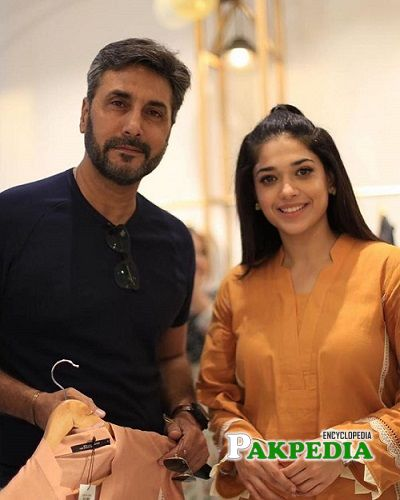 Sanam with Adnan Siddiqui