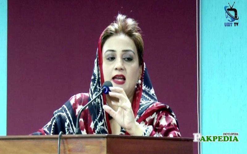 Azma Bokhari won the 2018 General Elections