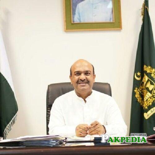 Nadeem Afzal Chan Biography