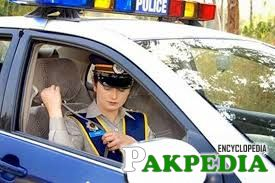 Lady Police Officer of National Highway and Motorway Police (NH&MP