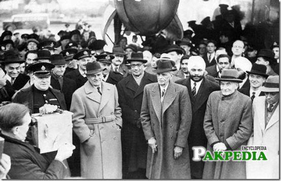 Jinnah as permanent president of ML
