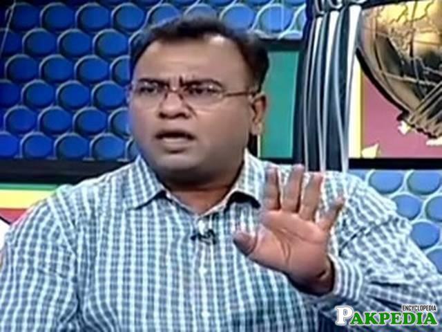 Basit Ali in Talk Show