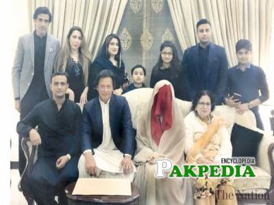 zulfi bukhari attended the third Nikah of PM