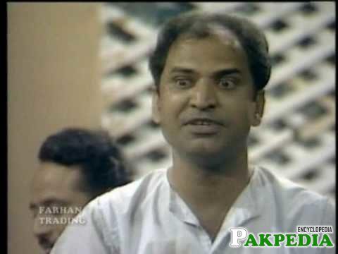 Saleem Nasir as A Comedian