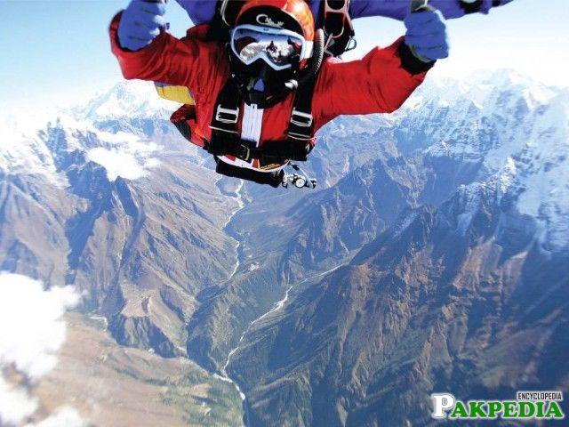 Namira Salim Sky dived